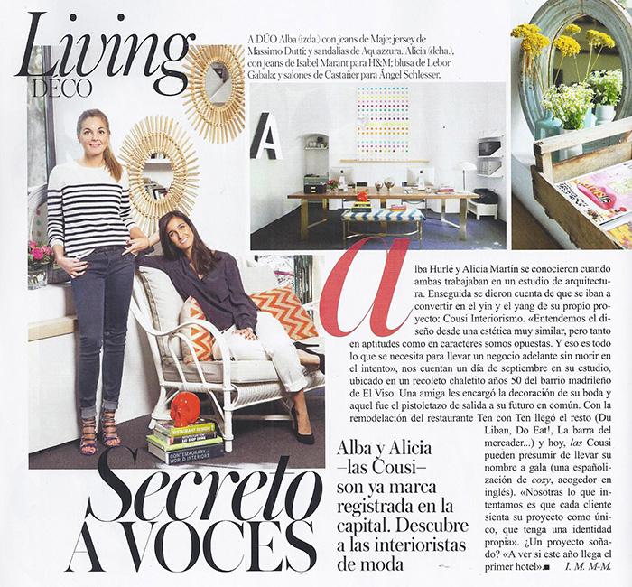 Vogue Cousi Interiorismo 2013